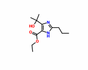 Ethyl 4-(1-hydroxy-1-methylethyl)-2-propyl-imidazole-5-carboxylate