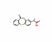 10,11-Dihydro-Alpha-Methyl-10-Oxo-Dibenzo[b,f]Thiepin-2-Acetic Acid